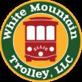 White Mountain Trolley Logo