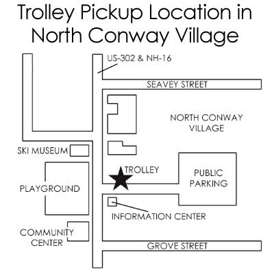 North Conway Village Map